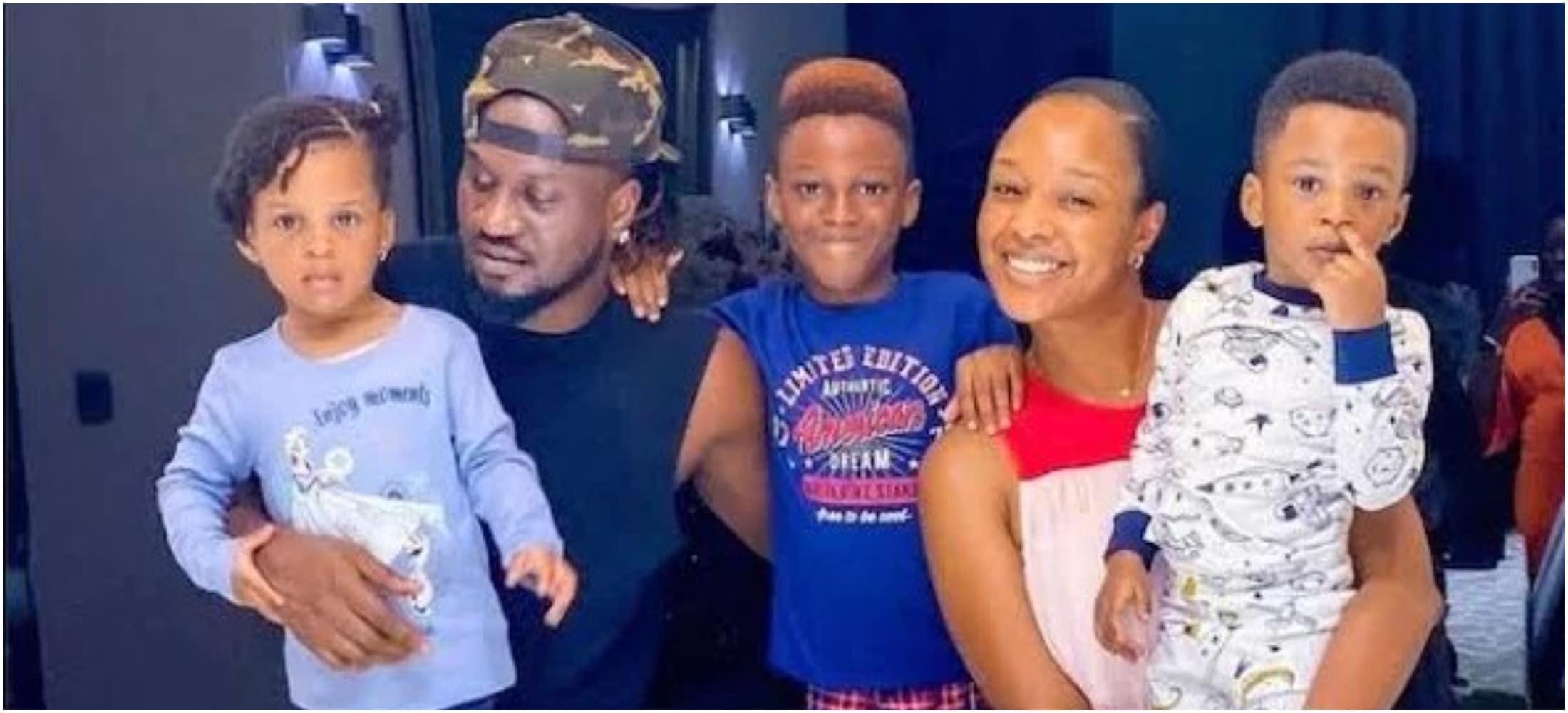 Paul and Anita Okoye family