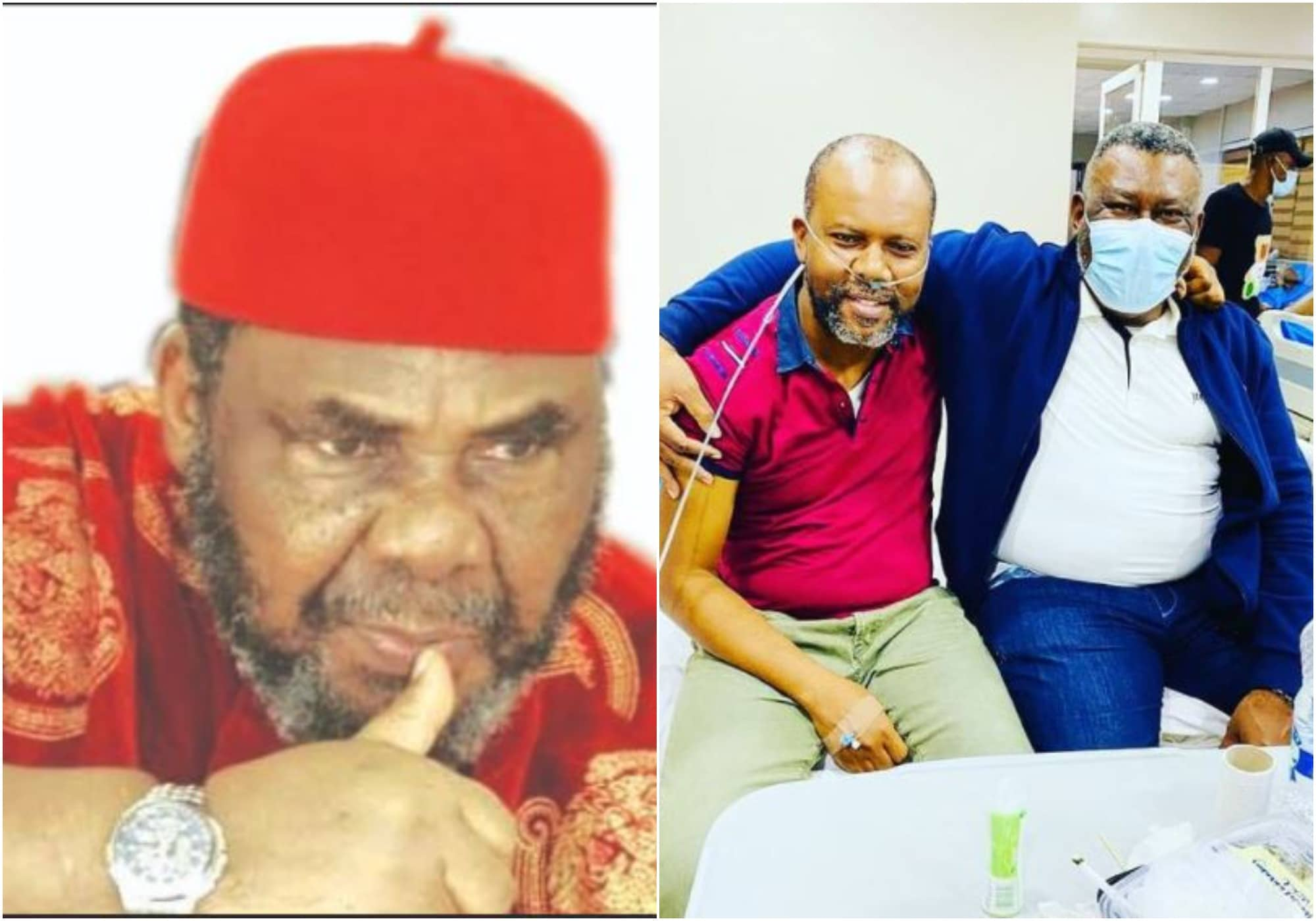 Pete Edochie's son down with covid-19