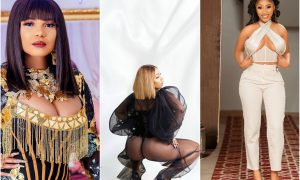 Nollywood actress Iyabo Ojo joins other celebrities to react to Mercy Eke's pictures ahead of her 28th birthday celebration.