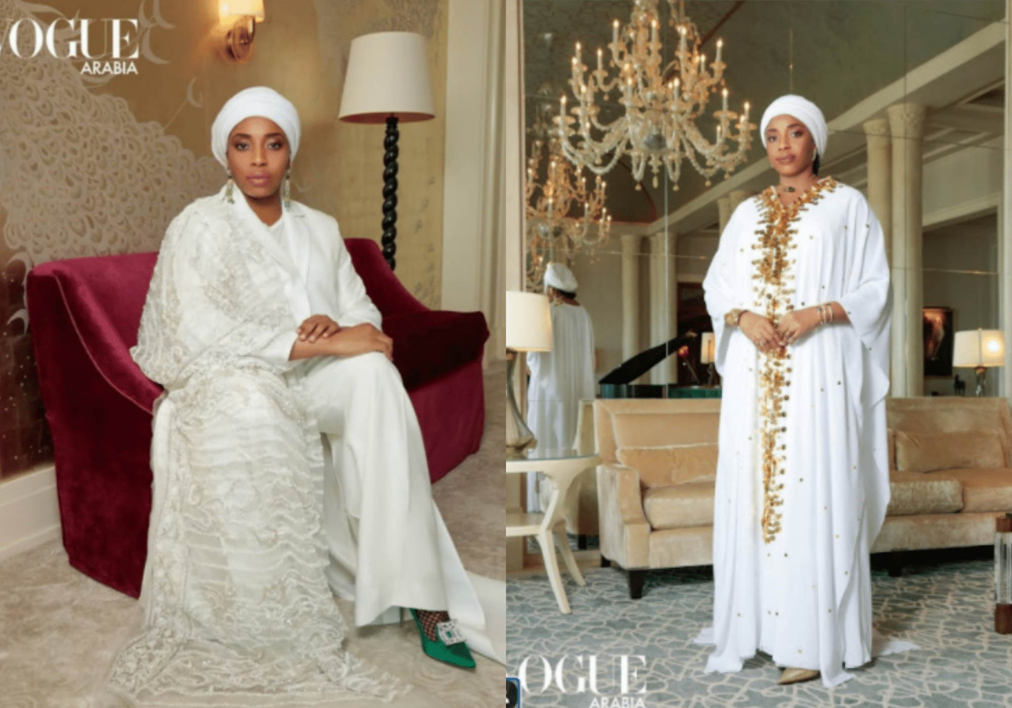 Queen Zainab interview with vogue arabia