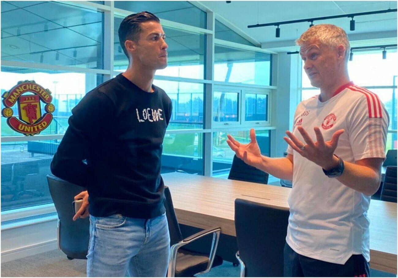 Ronaldo-Solskjaer