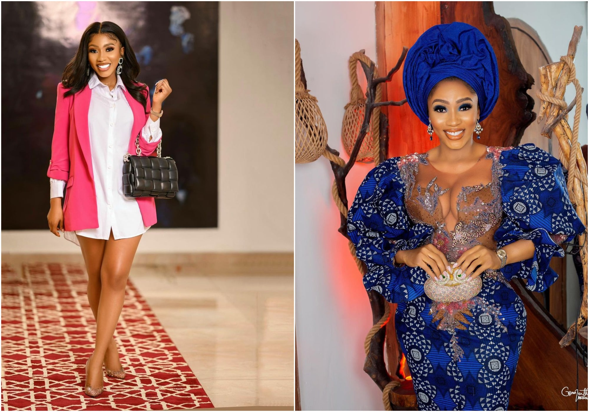 fans bash Mercy Eke over why she stays at home - KFN