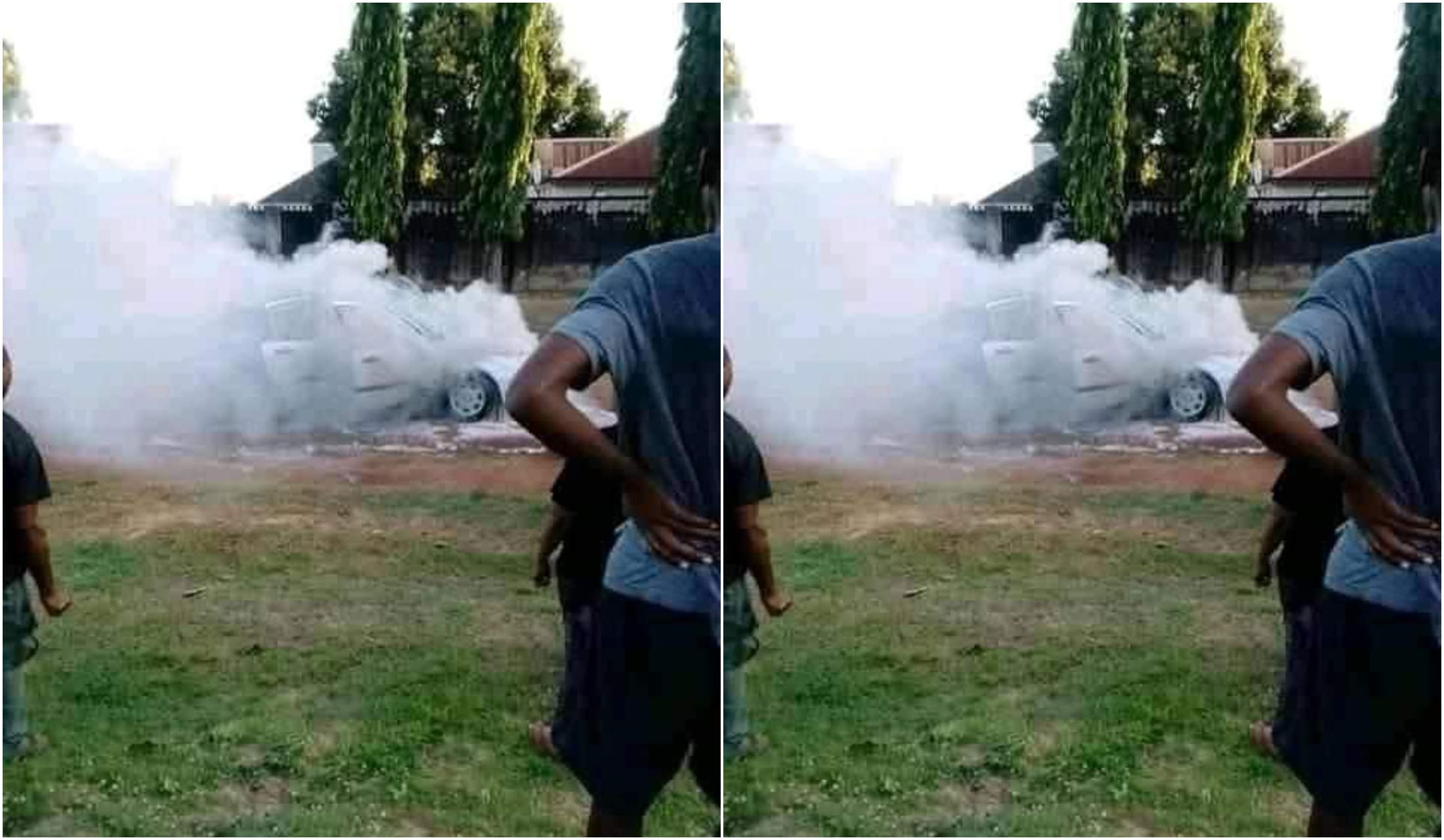Stephen Hwande escapes death