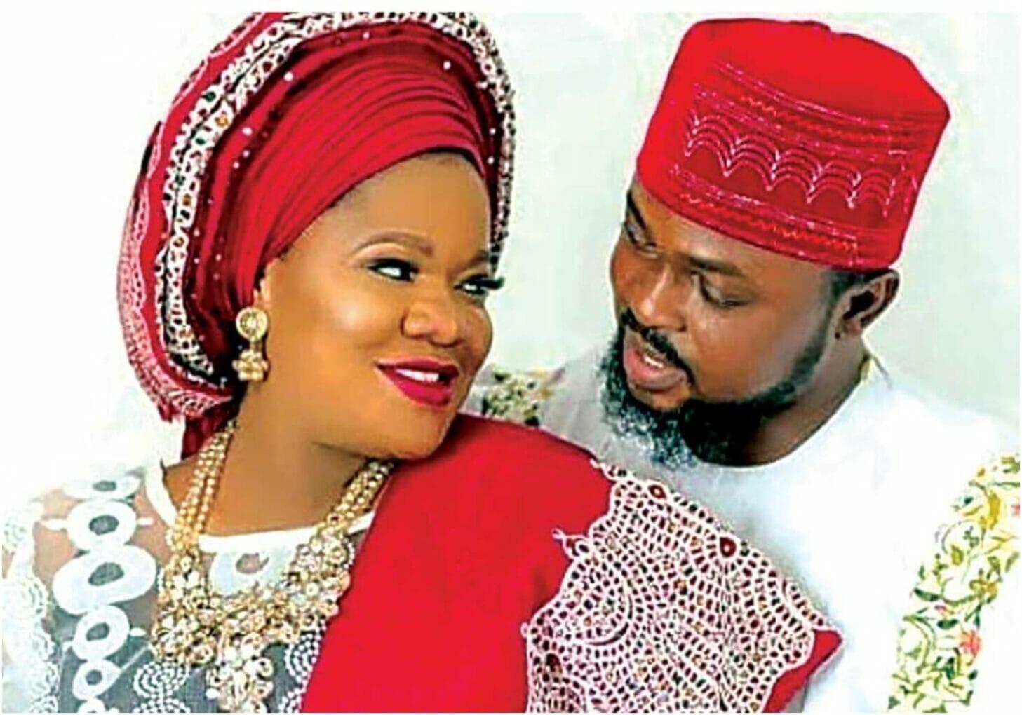 Toyin Abraham and husband (2)
