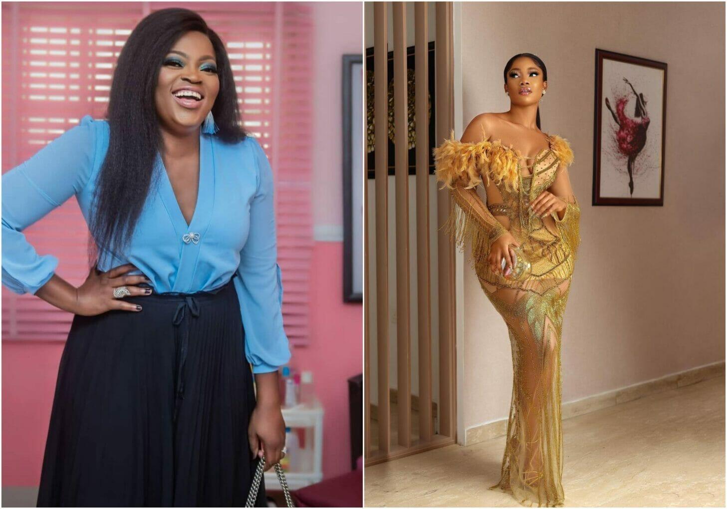 Tacha, others react as Funke Akindele shares a new message on social media