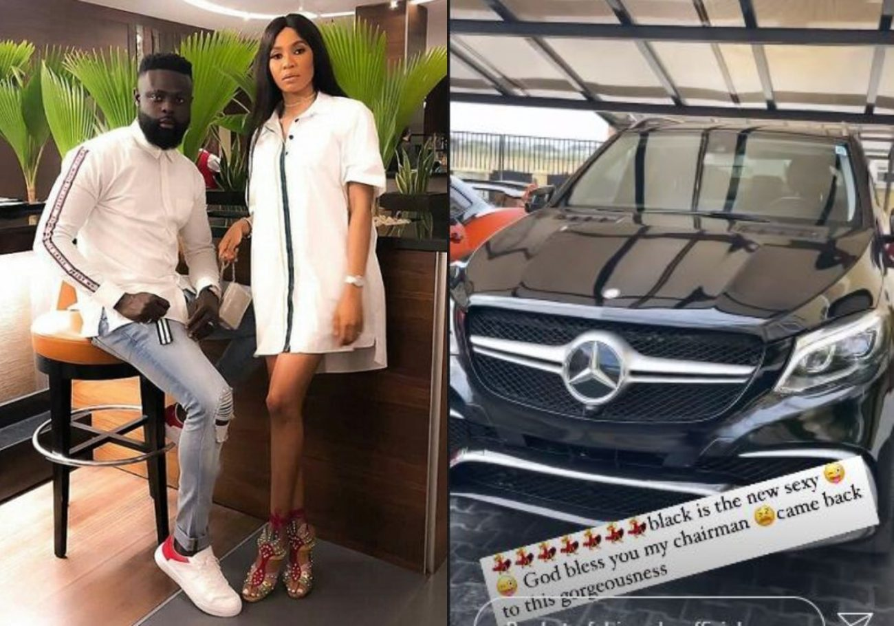 Yomi casual gifts a benz to wife, Grace