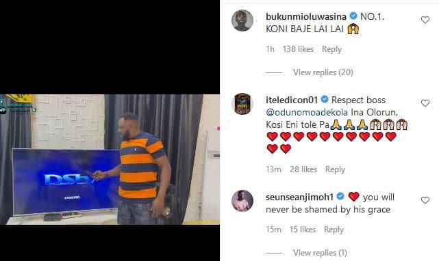 Eniola Ajao reacts as Odunlade Adekola deny $ex for role scandal