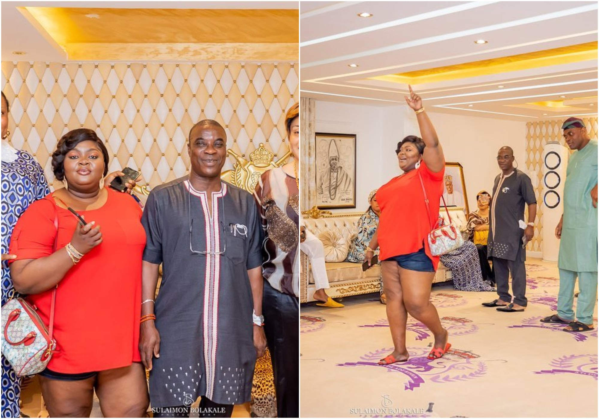 Fans drag Eniola Badmus over the outfit she wore to Elegushi's Palace