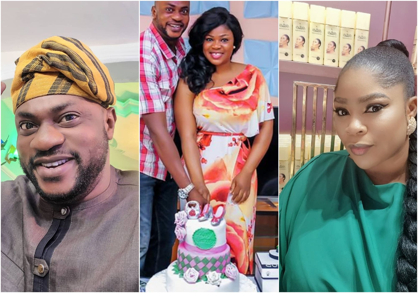 Eniola Ajao reacts as Odunlade Adekola deny sex for role scandal