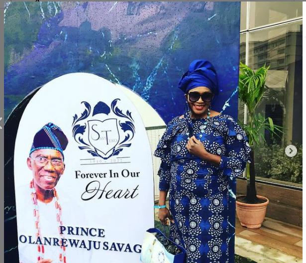 Tiwa savage funeral party