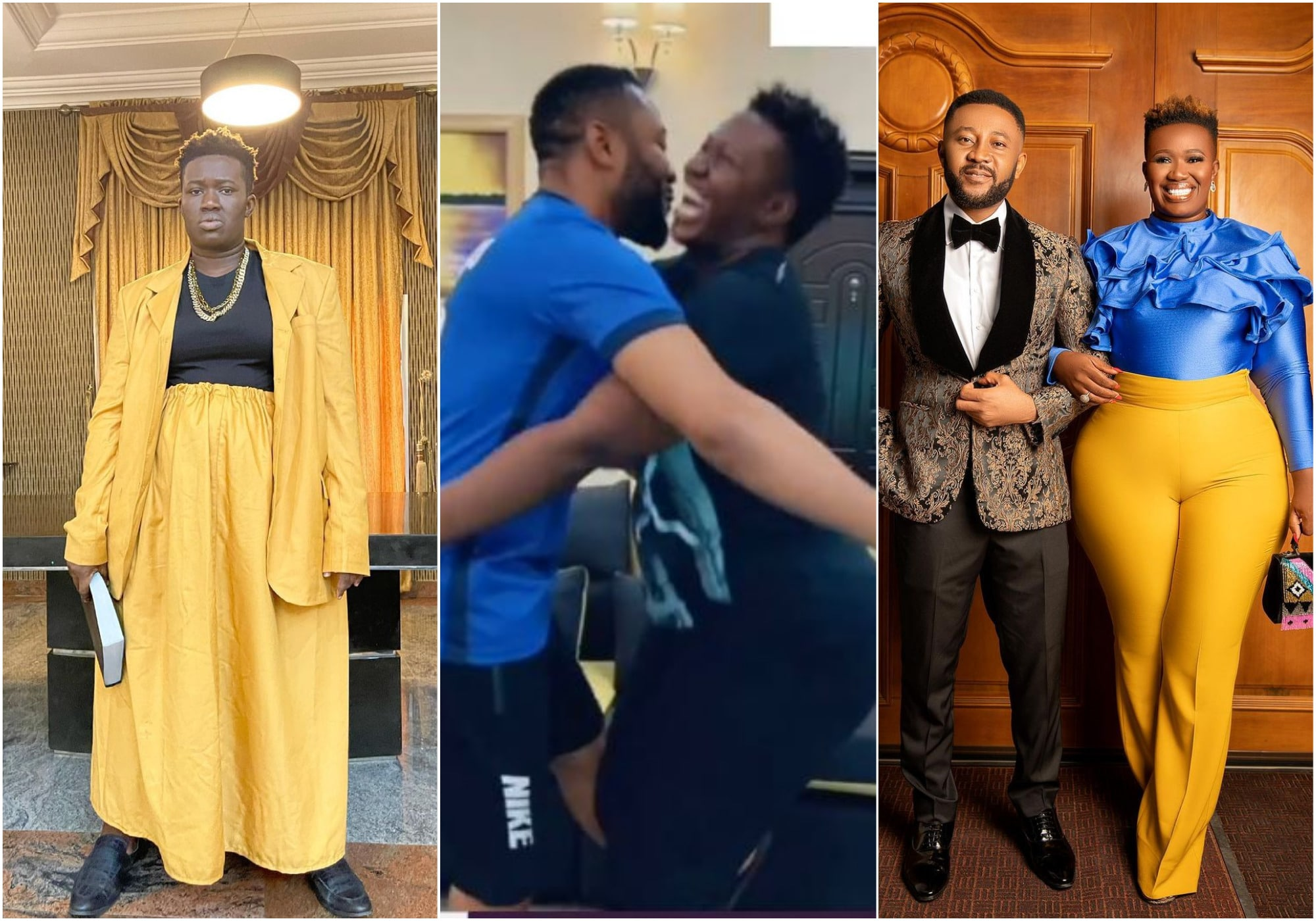 Famous Nigerian comedian, Anita Asuoha who is professionally known as Real Warri Pikin, laments her weight as she reveals that her husband could not carry her.