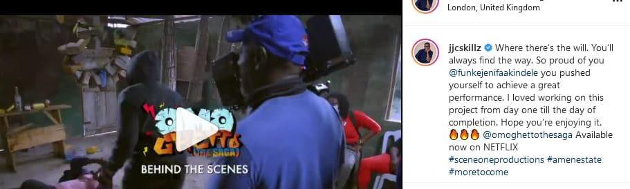 So proud of you – Funke Akindele's husband showers her with praises