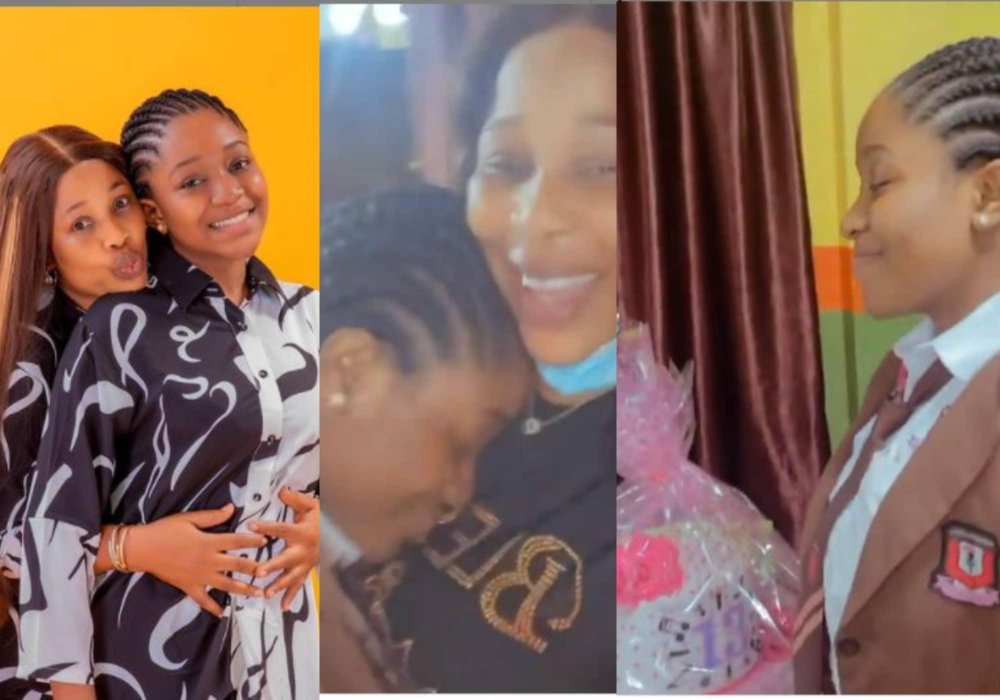 kemi korede celebrate first daughter birthday