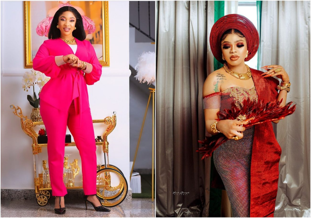 Ruined Friendship - Tonto Dikeh absent as Bobrisky host multi-millionaire birthday party in Lagos