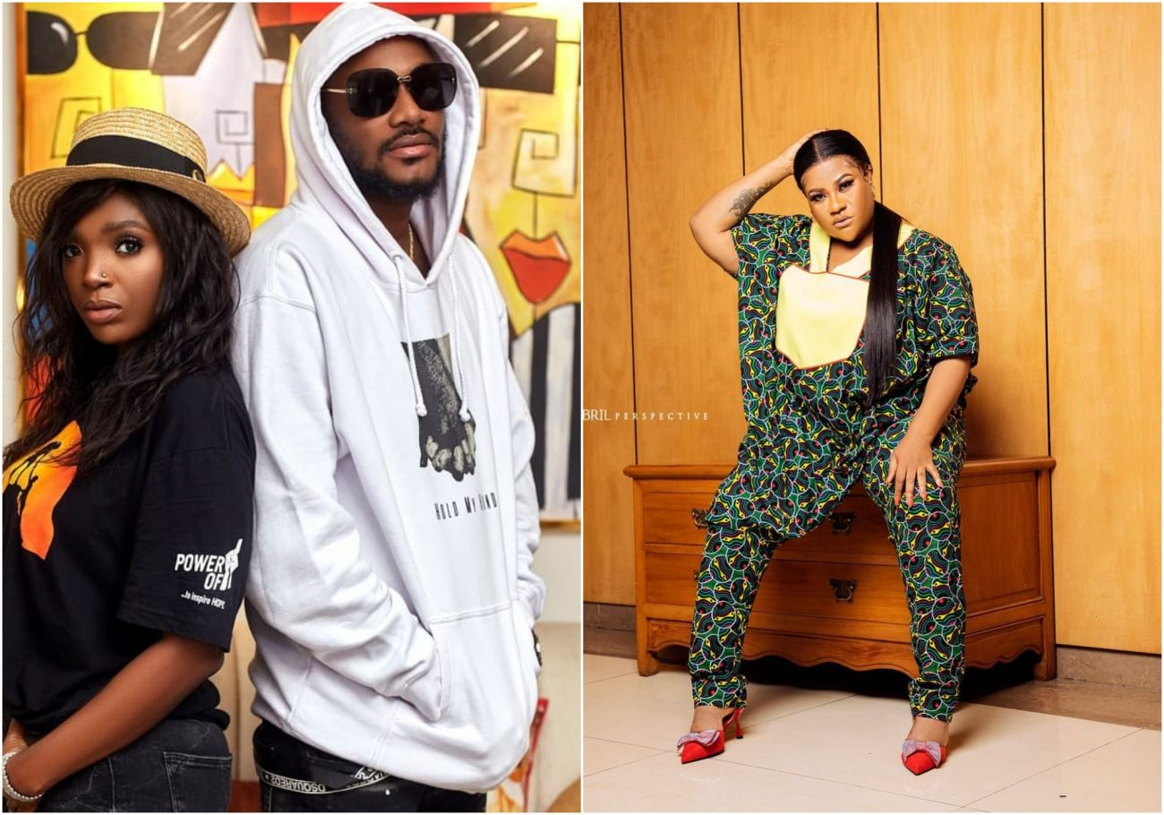 You talk too much - fans drag Nkechi Blessing for shading Annie Idibia