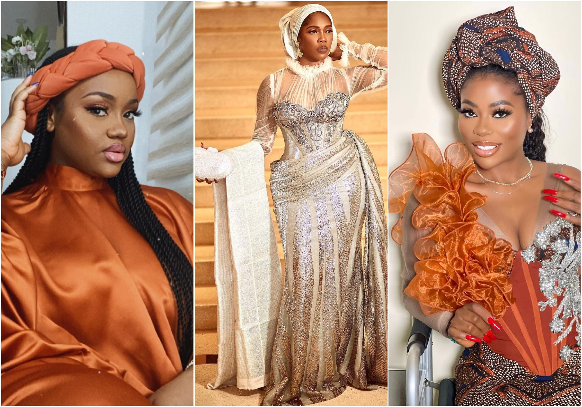 Chioma, storm Tiwa Savage's party while Sophie Momodu is absent