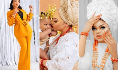 Bobrisky accuses Tonto Dikeh of turning her against Rosy Meurer