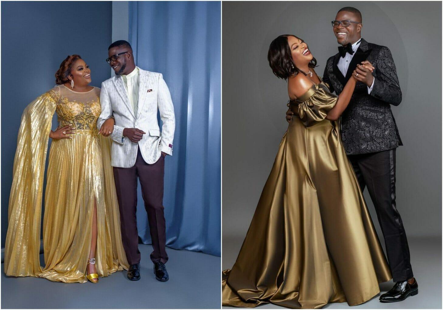 So proud of you - Funke Akindele's husband showers her with praises