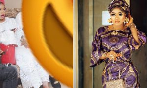 Fans blast Bobrisky as the colour of his actual skin surfaces online