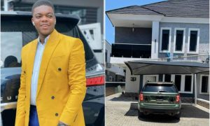 Cute Abiola becomes latest landlord