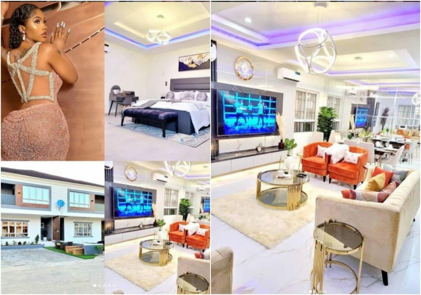 Mercy Eke's new house