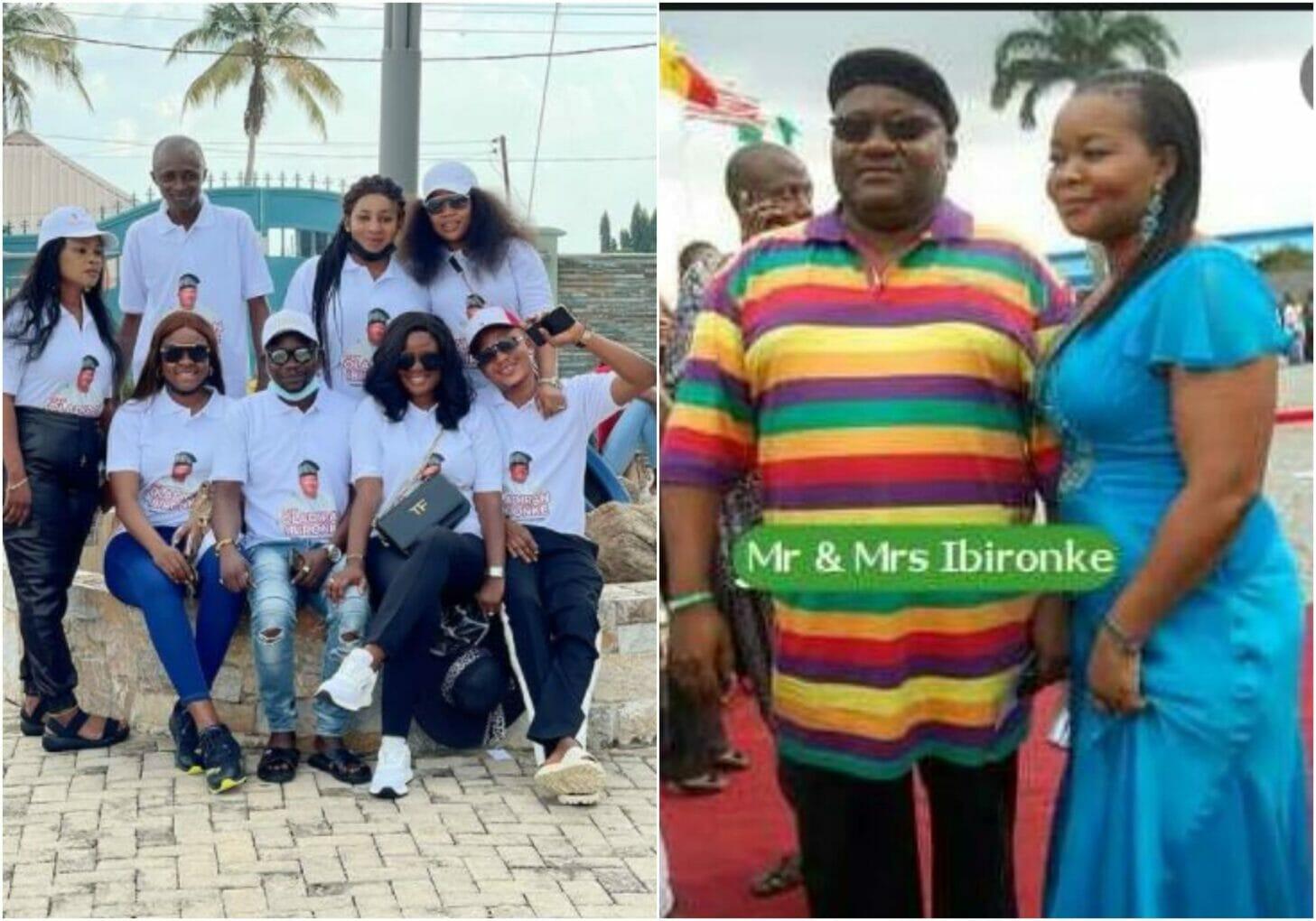 Nollywood stars storm Bimbo Oshin's husband wake keep