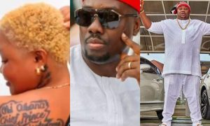 obi cubana n chiefprist reacts to lady who tattooed their names on her back