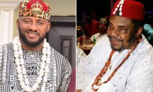 yul edochie recounts childhood moments with father